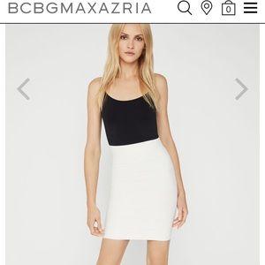 BCBGMAXZARIA Alexa sweater elastic skirt,M!NWT